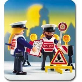 Playmobil Police Checkpoint