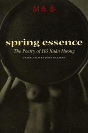 Spring Essence cover