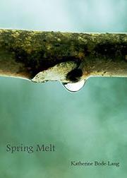 Spring Melt cover
