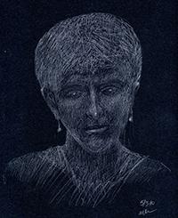 Alison Kent self-portrait