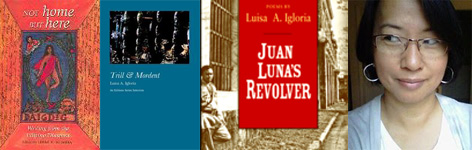 Luisa A. Igloria and her recent books