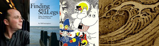 Will Buckingham with Sea Legs, Moomins, and the sea