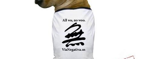 All wu, no woo doggy t-shirt