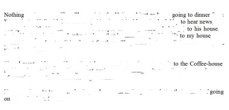 erasure of a page from Pepys' diary (Photoshop eraser tool version)