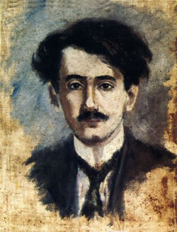 José María Eguren's self-portrait