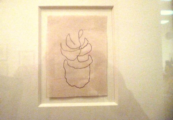 Agnes Martin's last work
