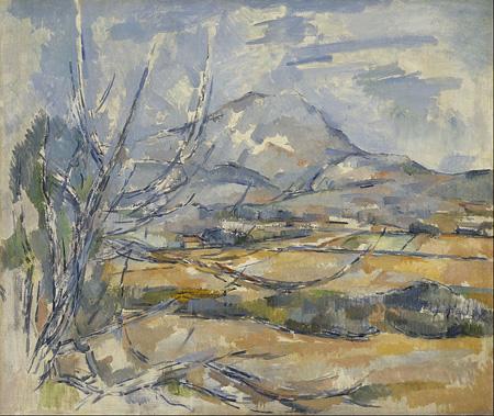Cézanne's painting Mont Sainte Victoire